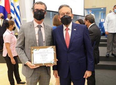 Presidente Nito Cortizo y Juan Octavio Díaz